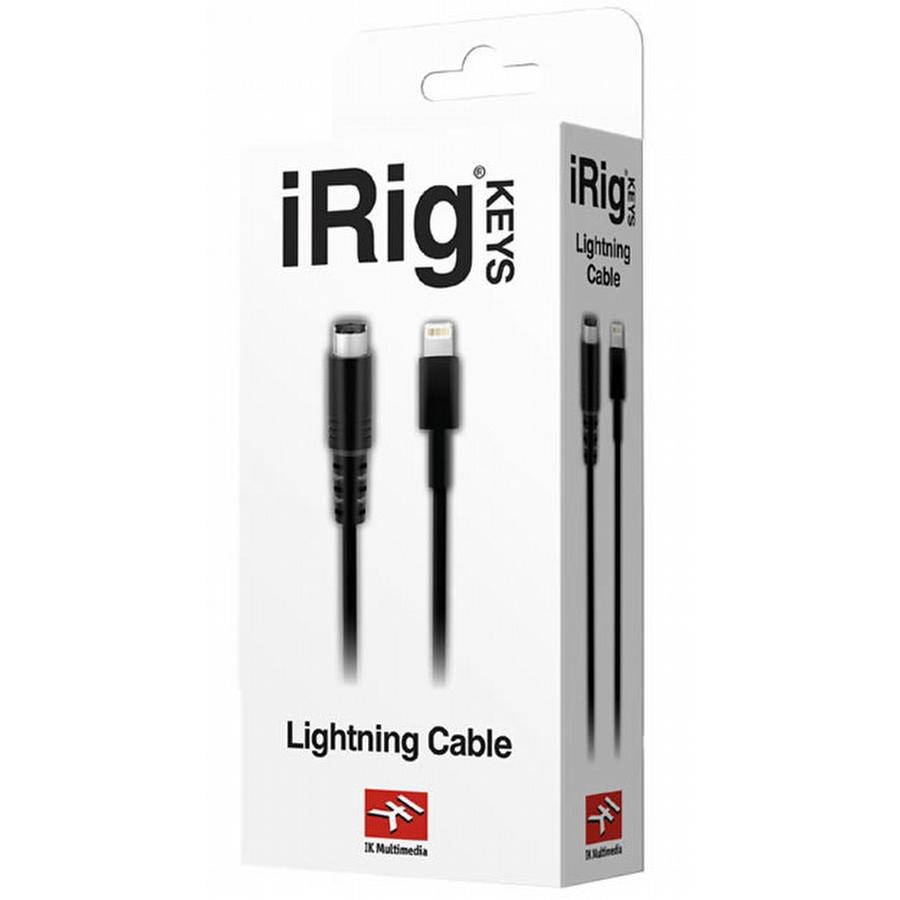 IK Multimedia Lightning naar Mini-DIN kabel voor iRig