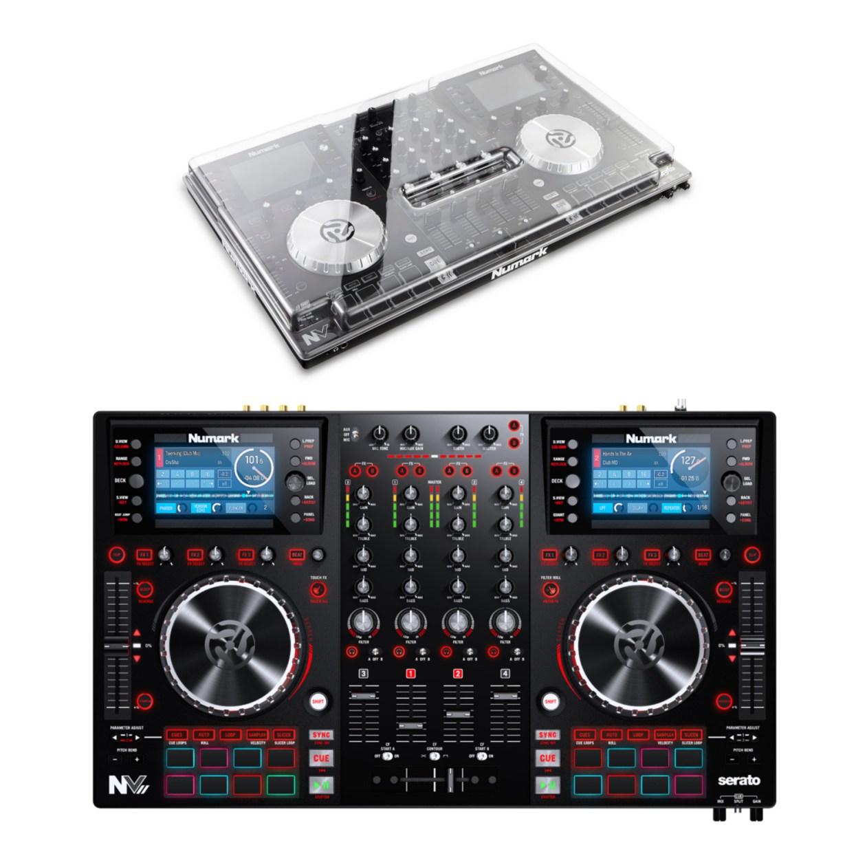Numark NVII DJ-controller met stofkap