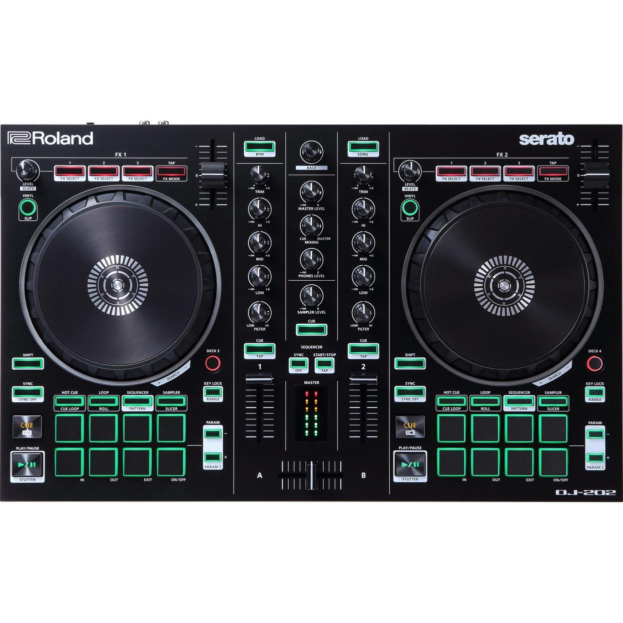 Roland DJ-202 DJ-controller