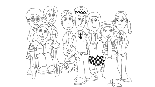 Skip To Want More Fun Sketch Coloring Page