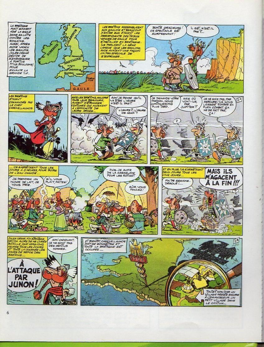Astérix Et Obélix Chez Les Bretons : astérix, obélix, bretons, Astérix, Bretons, Bdphile