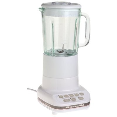 white kitchen aid small tables for beachcamera com kitchenaid ksb5wh 5 speed ultra power 500 watt blender
