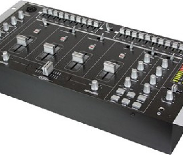 Mm 2400  Channel Stereo Mixer