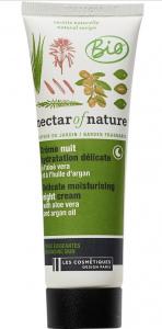 Crème Nuit Hydratation Délicate Nectar of Nature