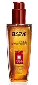 Résultat d'images pour huile cheveux extraordinaire elsève de l'oréal