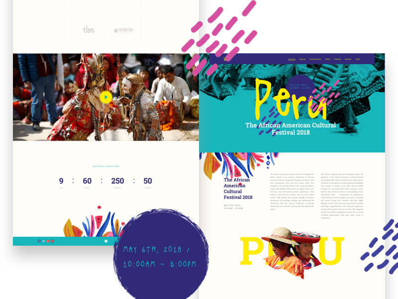 free design website template