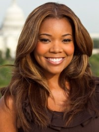 Gabrielle Union Rich Brown Hair Color | Makeup Tips and ...
