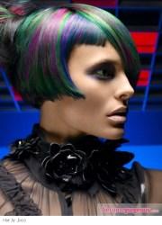 scene girl hairstyles