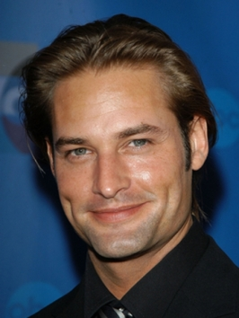 Josh Holloway with Brushed Back Hairstyle