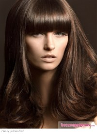 Pictures : Brown Hair Color Shades - Chestnut Brown Hair Color