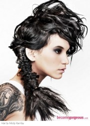 long hairstyles - edgy