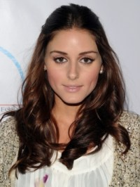 Olivia Palermo Glossy Brunette Hair Color | Makeup Tips ...