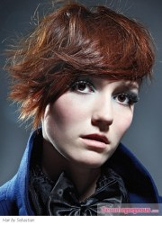 short hairstyles - tousled