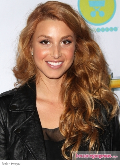 Whitney Port Strawberry Blonde Curls Makeup Tips And Fashion