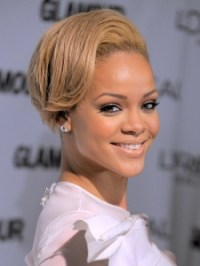 Pictures : Rihanna - Rihanna New Blonde Hair Color
