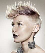 punk hairstyles ideas girls