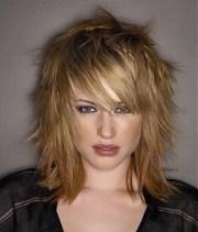 medium razored layered haircuts