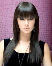 cool bangs hairstyles teen
