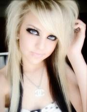 2010 blonde emo hair styles