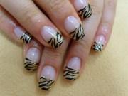 trendy nail art design
