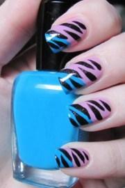 animal print nail art 2011