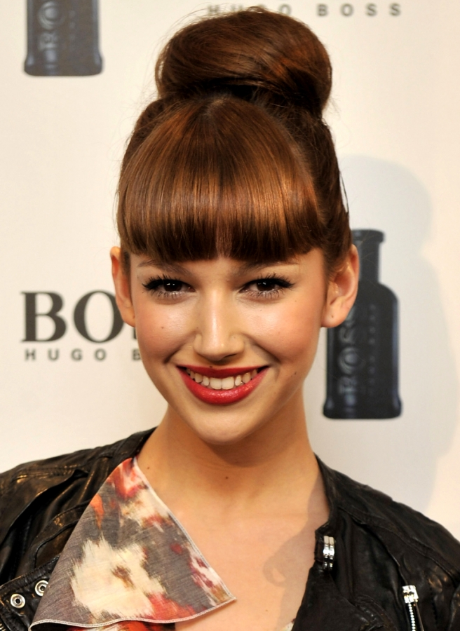 Celebrity Inspired Holiday Hairstyles