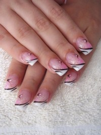 Latest French Manicure Designs.