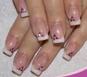 latest french manicure design