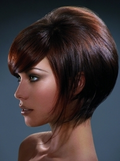 Groovy Tapered Bob Hair Styles
