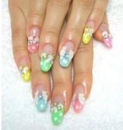 beach nail art design