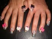 kitty nail art ideas