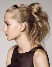 easy preppy updo hair styles