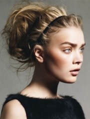 easy preppy updo hair styles