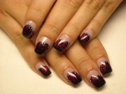 simple party nail design