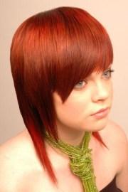 chic asymmetrical hair styles