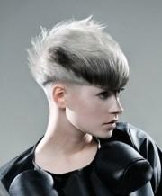 edgy short hairstyles teens