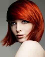 fiery hair color ideas fall