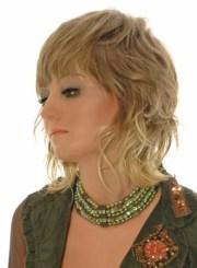 medium wavy shag hairstyles