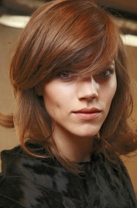 FallWinter 2010 Bangs Hairstyles Trend