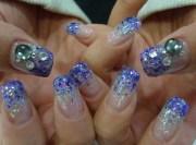 bridesmaid nail art design