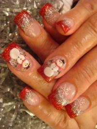 15 Best, Cute & Amazing Christmas Nail Art Designs, Ideas