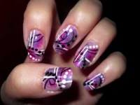 Abstract Nail Designs.