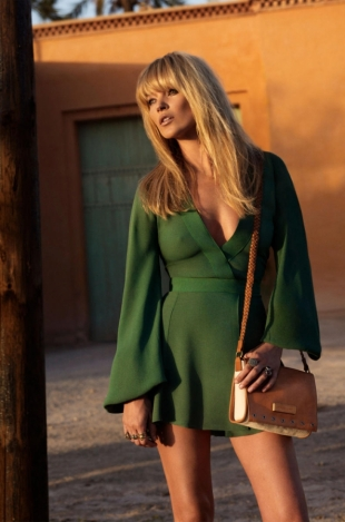 Kate Moss for Longchamp Spring 2011 Campaign
