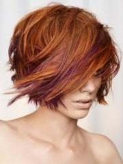 wispy layered medium hair styles