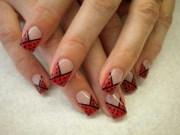 cute girly nail art design