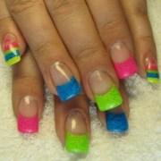 funky-fresh french nail art ideas