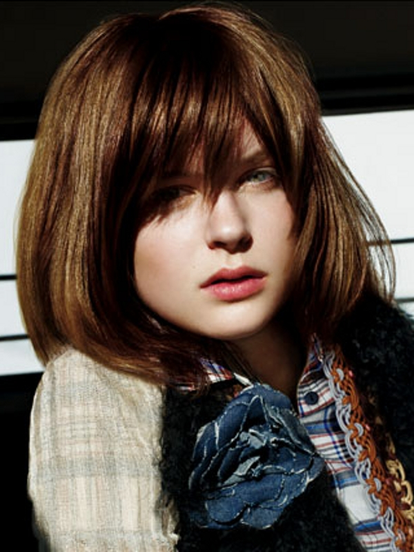 Medium Haircut Trends For Fine Hair
