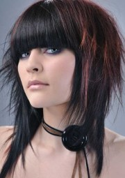 modern long hairstyles with bangs