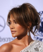 celebrity bedhead updo hairstyles