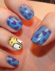 funky colorful nail art ideas 2012